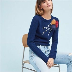 Anthropologie Field Flower sweater